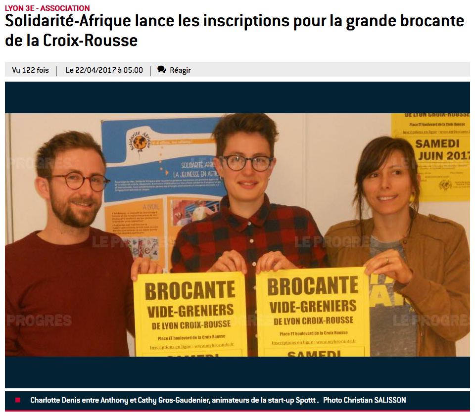 Solidarité-Afrique lance les inscriptions pour la grande brocante de la Croix-Rousse